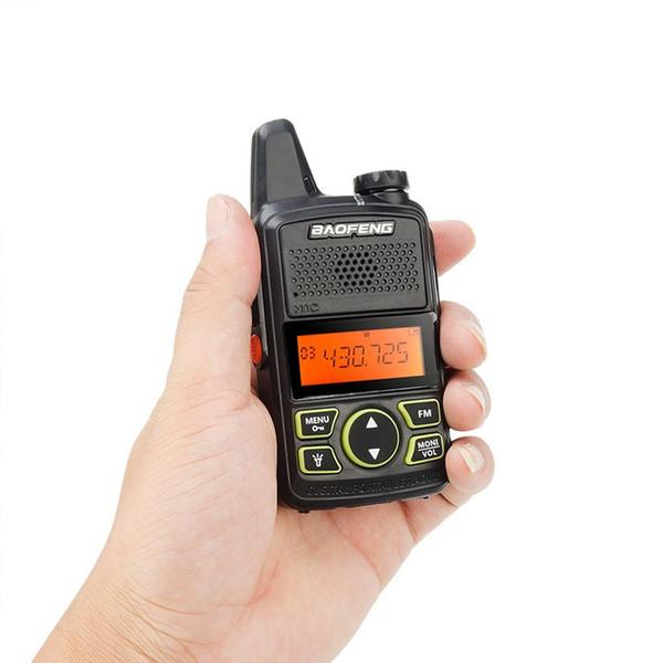 Original BAOFENG MINI Two Way Radio BF-T1 Walkie Talkie UHF 400-470mhz 20CH Handheld Transceiver Hotel civilian