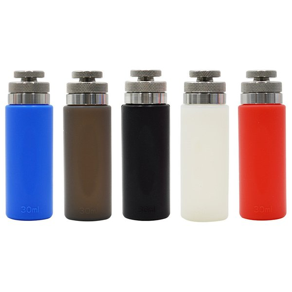 New 30ml Squonk 510 Refill Bottles Bottom Feeding Squonk Box Dedicated Silicone Filling Bottles Squeezable Liquid Juice Bottles