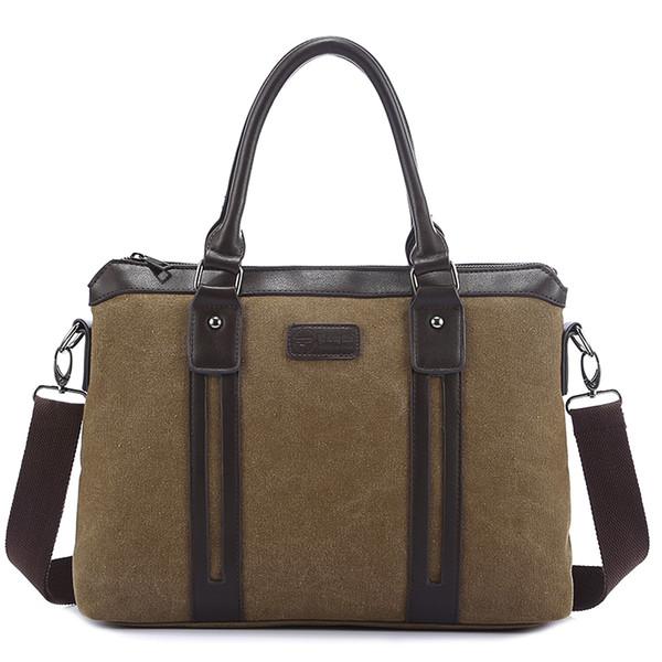 Men Messenger Bags Briefcase Canvas Crossbody Bags for Men Travel Belt Bag Male Big Canvas Handbag Shoulder