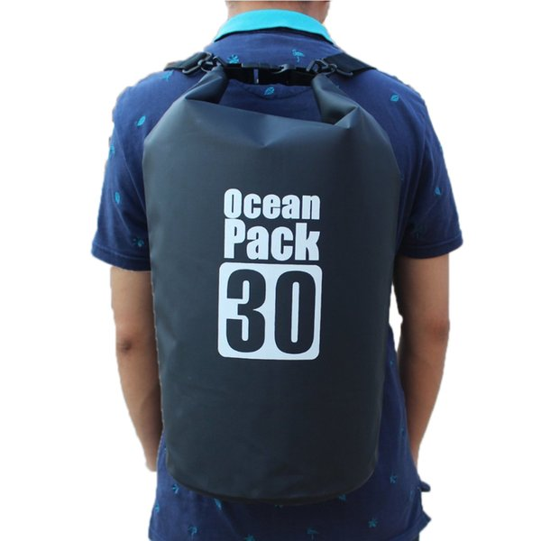 30L Waterproof Bags Dry Bag Water Resistant Swimming Storage Bag for Outdoor Kayak Canoe Rafting Upstream Pouch