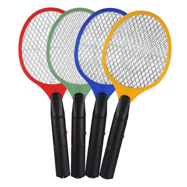 2 AA Batterien betrieben Handschläger elektrische Moskito Klatsche Insekt Hausgarten Pest Bug Fly Moskito Zapper Swatter Killer