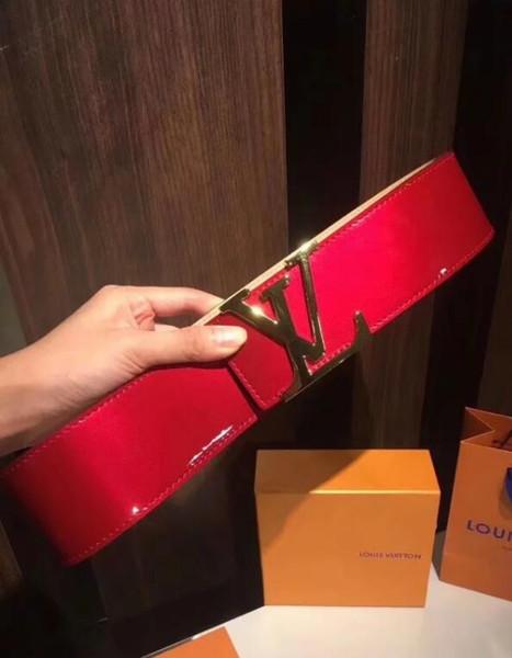 Em 2018, os mais recentes cintos de cintos femininos de grife de cintos femininos estão na moda, luxo e cintos de negócios de alta qualidade