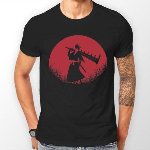 Abarai Renji Lua Vermelha Bleach Anime Unisex Tshirt T-Shirt Tee TODOS OS TAMANHOS