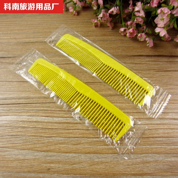 2018 Wholesale Hotel Toiletries Combs Hotel Rooms Once Combed Double Tooth  Plastic Combs From Haoke1961, $401 0 | Dhgate Com