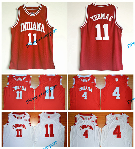 hot sale online 5b28e 37412 2017 Throwback Basketball Jersey Isiah Thomas #11 1981 Indiana Hoosiers 4  Victor Oladipo College Jersey Retro Vintage Shirts From Redsport, $15.62 |  ...