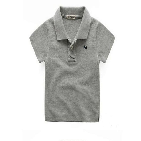 Summer Baby Boys Polo Shirts With Collar Fashion Cotton Kids Shirt Children Sport Shirts Brand Top Quality 2 -10