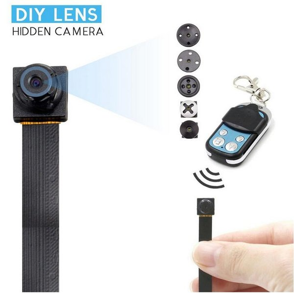 1080P Mini Camera DIY Module Buttons T186 Cam/Pet monitor/Nanny Cam remote control with Motion Detection Home security drop shipping