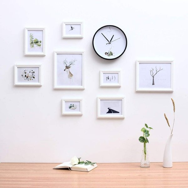 Photo Frame Wall Gallery Kit Includes: Hanging Wall Template,Art Painting