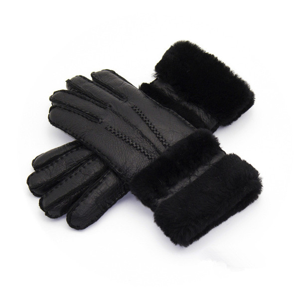 Women High Quality Leather Gloves Women Wool Gloves Free Shipping Quality Assurance