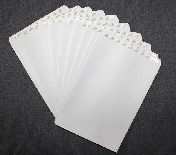 10 To 30 Blank Plain White Paper Self Sealing Envelope w/Peel & Press 225*160mm