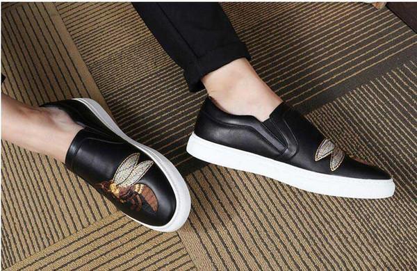 Men Dress Shoes 2016 DYANMIC Men's Pointed Toe Classic Fashion argento / rosso Oxford Business Scarpe Scarpa comoda 5