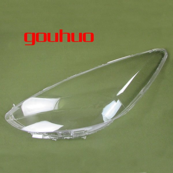 For Mazda 2 M2 Lamp Cover Headlamp Shell Transparent Lampshade Headlight Cover Lens lamp shade Glass 2pcs