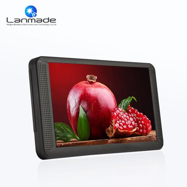 Barato Resolución 1024 * 600 7 '' reproductor de video con tarjeta de memoria mini lcd reproductor de DVD portátil 7 pulgadas lcd
