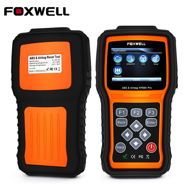 Automotive Diagnostic tool Car Scanner Diagnosis OBD2 Airbag ABS SAS SRS Engine Code Reader Air bag Crash NT630 Pro