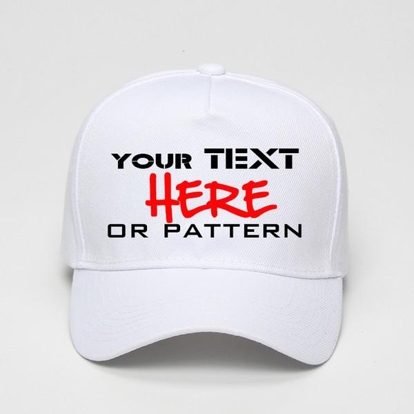 Custom baseball cap 5 Pannels trucker cap Fastener Tape adjustable Hat logo Custom print Text picture personalize free shipping