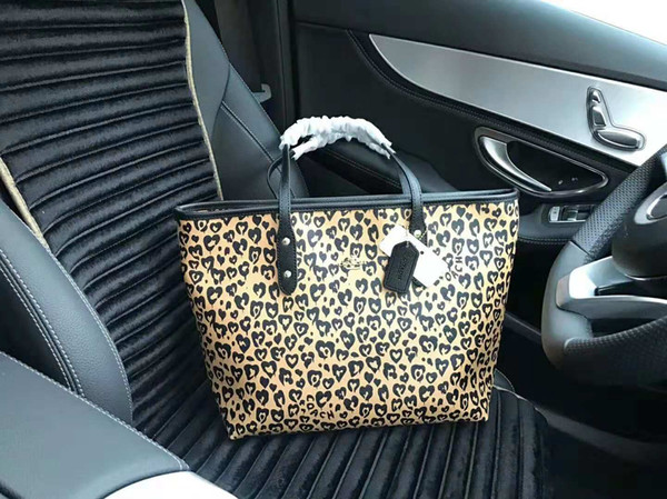 The latest official website boutique handbags ladies counters quality leather storage shopping bag free shipping