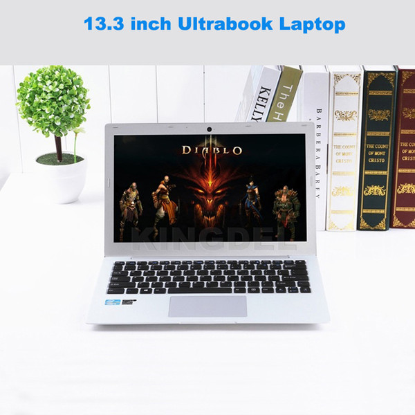 "Kingdel Powerful Ultra thin Ultrabook Computer 13.3""Intel 5th Gen i5 5200U Laptop Notebook with 8GB RAM 1TB SSD,8 Cell Battery"
