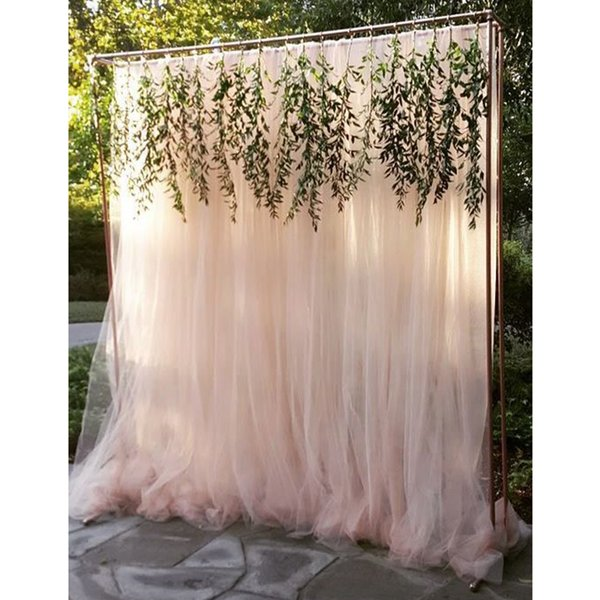 Tulle Roll 100 Yard Wedding Decoration Tulle Outdoor Wedding Photography Wall Props Babyshower Gift Wrap Birthday Party Favors Party Bags Party