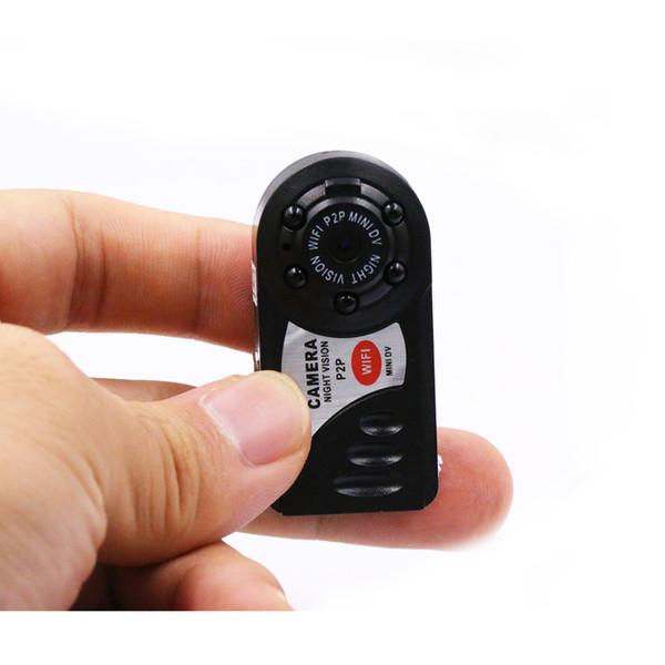 La nueva llegada HD 720P más pequeña cámara de vídeo DVR de la cámara de visión nocturna espion wifi para android para