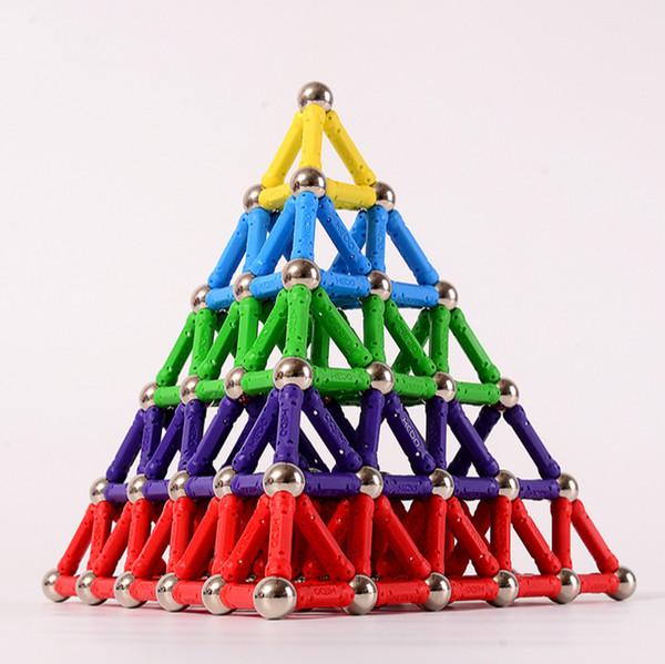 Gioca a Maty Magnetic Building Blocks Giocattoli simili Kit di costruzione di giocattoli che giocano a mattoni giocattolo magnetico per i bambini