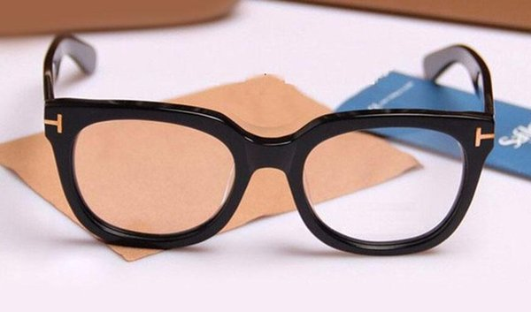 Brand Glasses men and women TF5179 fashion prescription acetate big frame spectacle optical eyeglasses with case