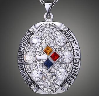 Yeni varış takı için 2008 Çelik ers şampiyonası kolye boy baba festivali koca hediye hayranları hatıra koleksiyonu