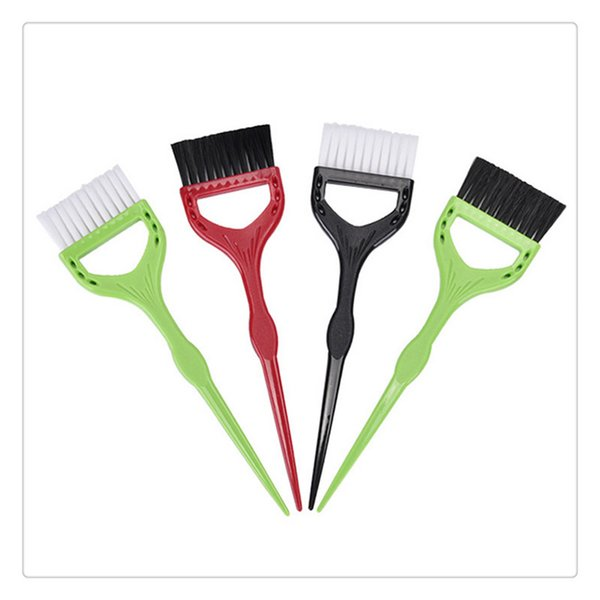 Hair Dye Coloring Dyeing Antiskid Brushes, Salon Hair Bleach Tinting DIY Tool Cheap and practical - Random Color