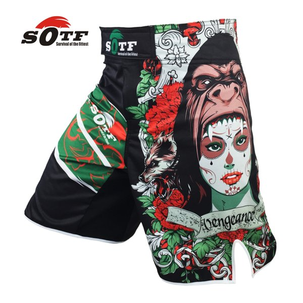 Sotf Mma Boxing Muay Thai Kick Pretorian Short Mma Crossfit Shorts Kick Boxing Shorts Cheap Mma Shorts Brock Lesnar Kickboxing
