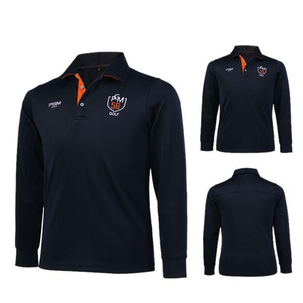 best selling PGM Men's Outdoor Sport Clothes Golf Long Sleeve Ice T-shirts Summer Soft Viscose Shirt Sunscreen UV Underwear Golf Apparel
