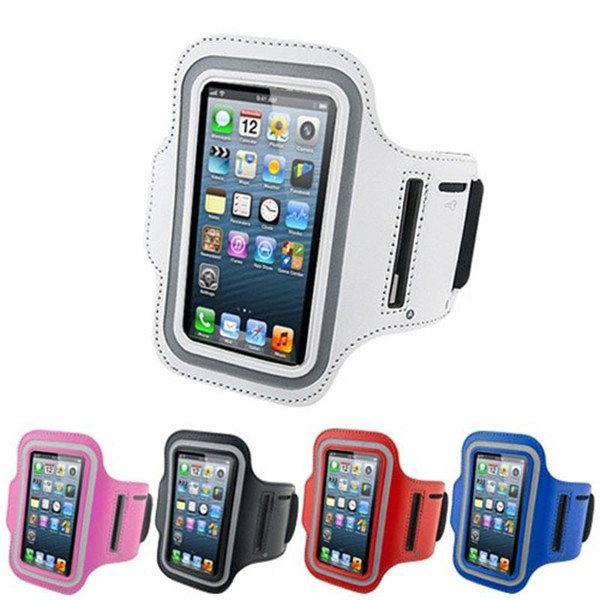 WaterProof Sport Gym Running Armband Pouch Case Cover For Apple iphone x 8 7 6s Plus 5/5S Samsung Galaxy S5 S6 edge Note 5 huawei
