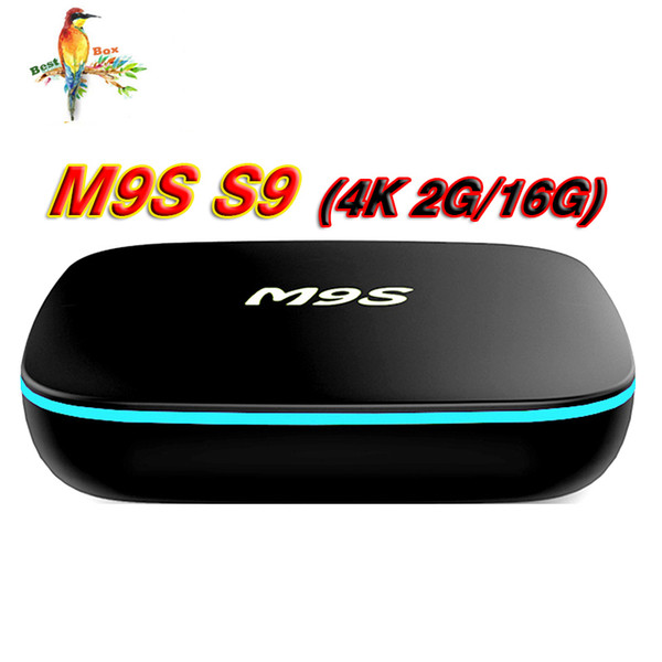 2018 Best M9S Mini S9 Android 7.1 TV Box RK3229 2GB 16GB Bluetooth Set Top Box 4K 1G 8G Smart Media Player