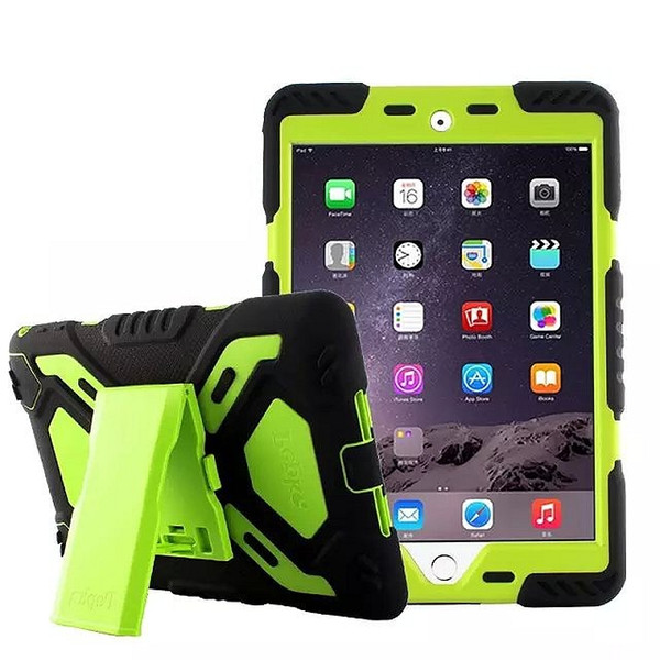 60PCS/lot With Retail Package Original Pepke Pepkoo with stand life Waterproof Drop proof Case For apple ipad air 5 Free Shippping