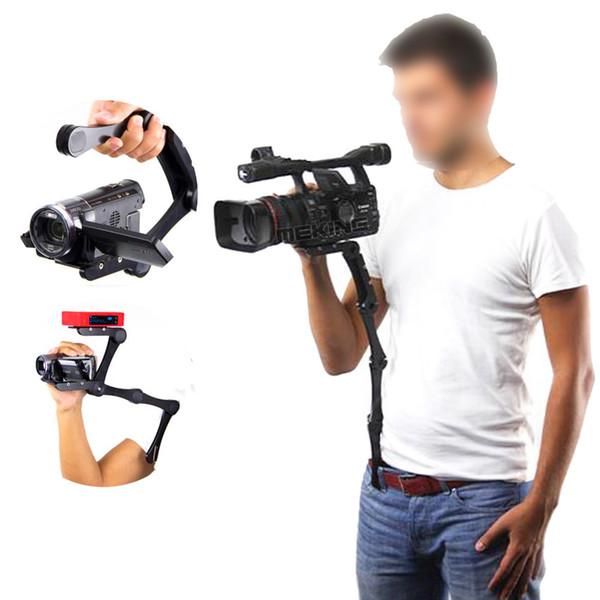 wholesale Shape Camera Video Bracket Handle Handheld holder Stabilizer Grip for DSLR for Canon Nikon Sony Gopro SJCAM Xiaomi Yi Camera