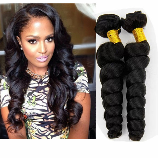 Loose wave Natural black Color
