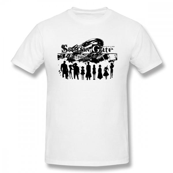 Man Steins Gate 0 Gate Of Steiner Low Cost Merchandise T Shirt Pure Cotton Homme Tee Shirt