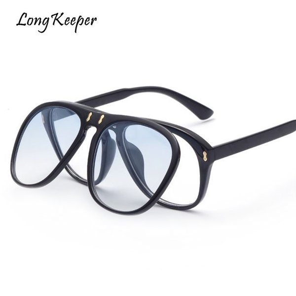 ea5319a4d3 Long Keeper 2018 Fashion Women Oval Sunglasses Vintage Men Brand Designer  Sun Glasses Retro Eyewear UV400