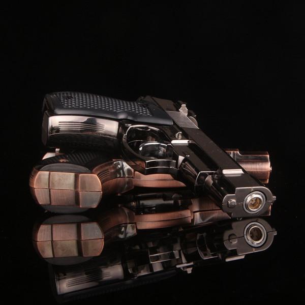 2018 New Cretive Gun Style Lighter Cool Shooting Lighter Wind-Proof Lighter For Cigarette Smoking Tobacco Smok LGT002