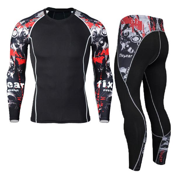 New Winter Men Thermal Underwear Sets Elastic Warm Fleece Long Suits for Men Sport Breathable Thermo Underwear Sportswear Kit