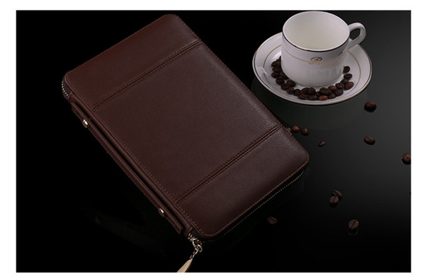 Wallet Cover For Apple 7.9 inch ipad mini 1 2 3 4 A1599 A1600 A1601 A1538 A1550 Portfolio Case PU Leather Cover+Stylus Pen+Film.