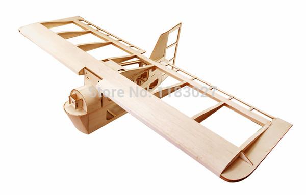 ELERC Balsa Wood Airplane Model Blew Angel 38 Wingspan 1000mm Building Toys Woodiness model /WOOD PLANE
