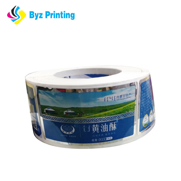 Custom high quality Warning Label Die Cut Self Adhesive Waterproof PVC Vinyl Sticker Label Printing With China Factory Price