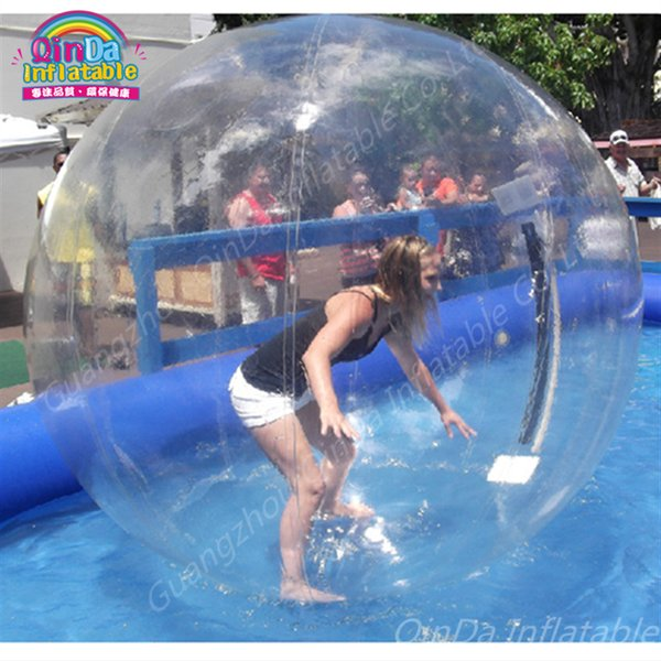 Inflatable Bubble Water Ball,Walk On Inflatable Swimming Pool Watering Ball Toys,Pool Float Water Rolling Ball