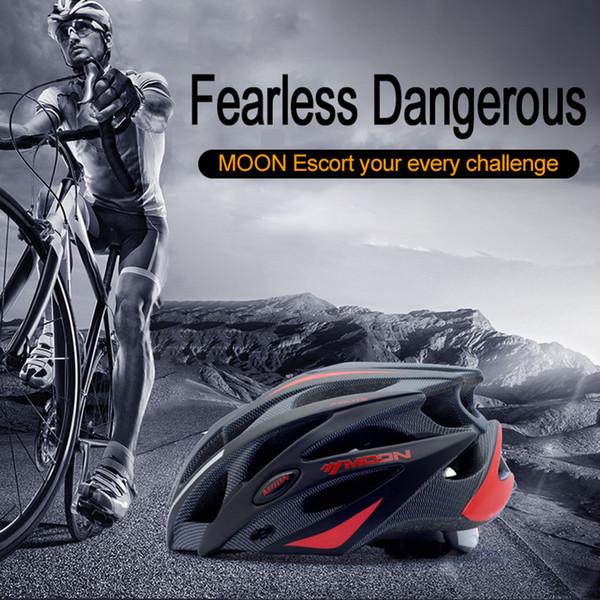MOON Cycling Helmet Ultralight Bicycle Helmet MTB Bike Men Mountain Road Women MTB Bicycle  Ciclismo