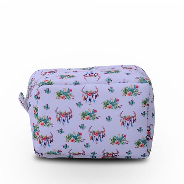 c9c01e6fcf55 2019 Canvas Bullskull Cosmetic Bag Wholesale Blanks Women Cactus Toiletry  Bag Makeup Bag Gift For Her DOM106660 From Domil, $508.18 | DHgate.Com