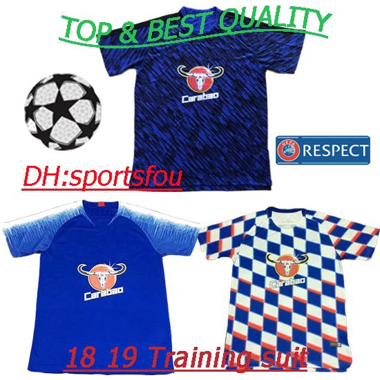 thail premier league Soccer Jersey 18 19 Hazard Oscar Mikel jerseys Polo  shirt short sleeve training 7f6018aaa