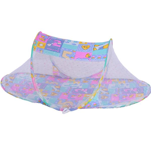 2016 Новый качественный портативный складной младенец младенца портативный складной проездной кроватки кроватки Canopy Mosquito Net Tent