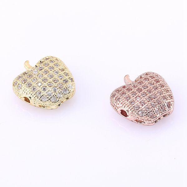 Bird Charm//Pendant Tibetan Rose Gold 7 x 11mm  10 Charms Accessory DIY Jewellery
