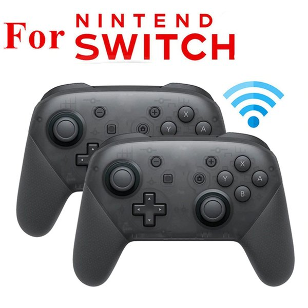 Wireless Gamepad Game joystick Controller For Ninten--d Switch Pro Host Bluetooth controller Support Somatosensory Vibration r20