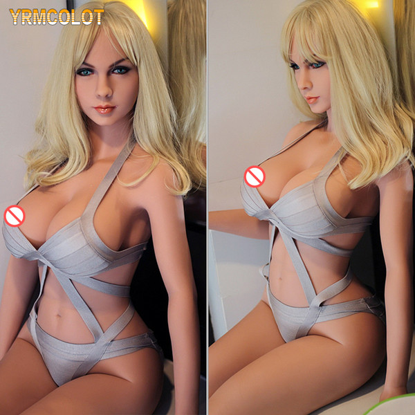 YRMCOLOT Love Sex Doll 140 cm TPE con esqueleto de metal Love Doll Lovely Girl Real Silicone Sex Dolls for Men Realista Vagina y Ano