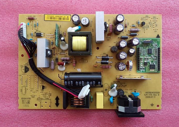 Free Shipping Original LCD Monitor Power Supply Board PCB Unit ILPI-175 493161400100R For PHILIPS 193E1LE19Z6 MWE1193T